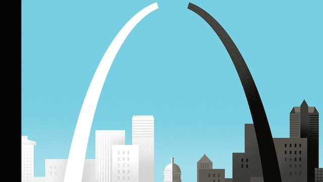 """Broken Arch: A Scene from St. Louis"" by Bob Staake"""